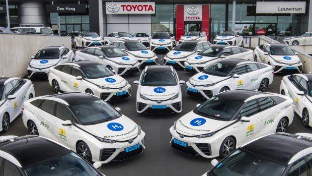35 waterstoftaxi's gaan in Den Haag de weg op