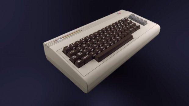 Nieuwe retro Commodore 64 heeft een volledig toetsenbord