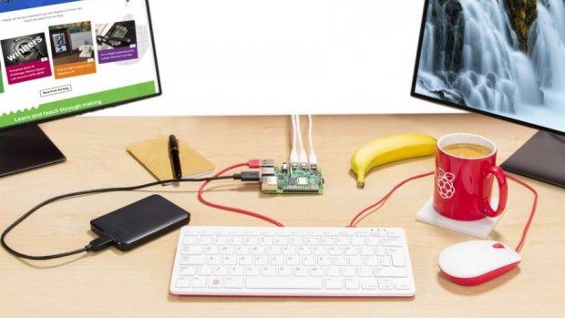 Nieuwe Raspberry Pi ondersteunt 4K en kost maar 40 euro