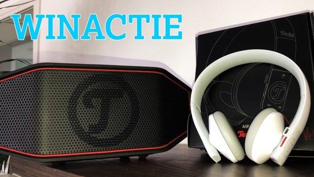 Maak kans op een draadloze speaker en headset van Teufel