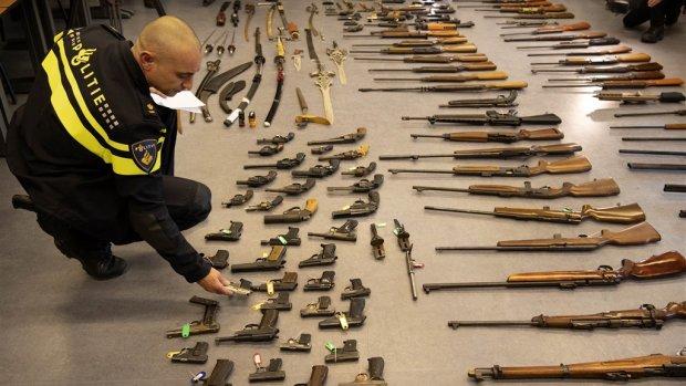 Toename illegale wapenhandel in 200 gemeenten, Brabant spant de kroon