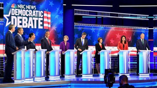 Welke Democraat kan Trump verslaan?