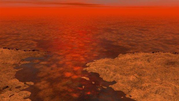 NASA-drone gaat leven onderzoeken op Saturnus-maan Titan