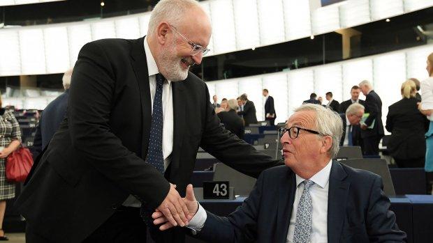 Frans Timmermans: 'Weet nog niet of ik ja zeg tegen vicevoorzitterschap'