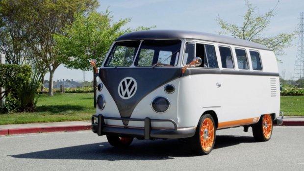 Volkswagen toont elektrische versie van klassieke Type 2-bus