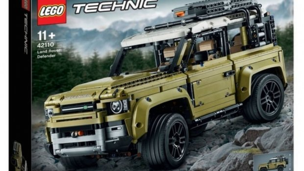 Nieuwe Land Rover Defender gelekt door Lego-doos