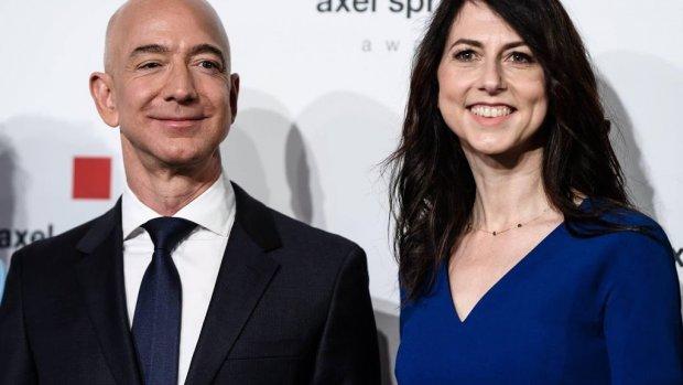 Amazon-baas Jeff Bezos moet ex-vrouw 38 miljard betalen