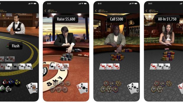 Apple brengt pokerspel opnieuw uit voor iPhone