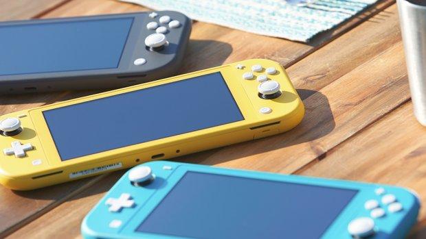 Nintendo lanceert Switch Lite: kleiner en goedkoper