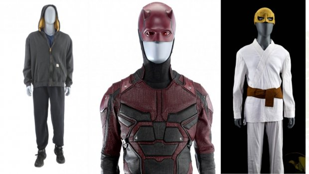 Marvel veilt kostuums en attributen uit geschrapte Netflix-series
