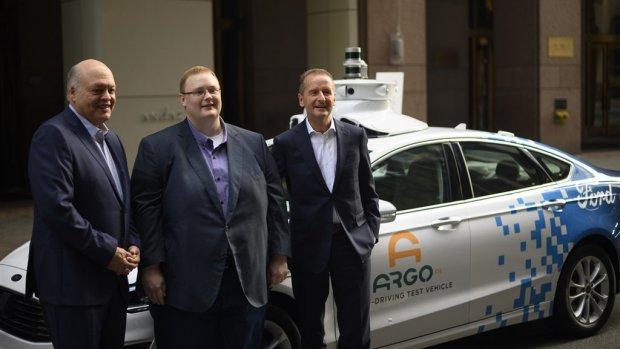 Volkswagen koopt zich in bij Fords zelfrijdende auto-startup