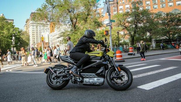 Elektrische Harley Davidson in 3 seconden naar 100 km/u
