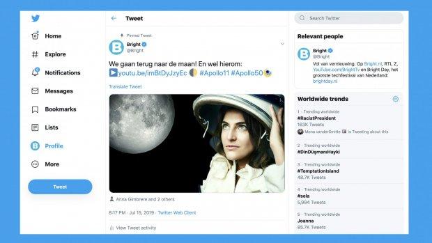 Twitter lanceert nieuw ontwerp op de desktop