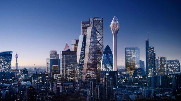 Burgemeester Londen wil omstreden 'Tulp'-wolkenkrabber niet