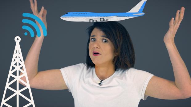 Internet in het vliegtuig: waarom is het zo duur?