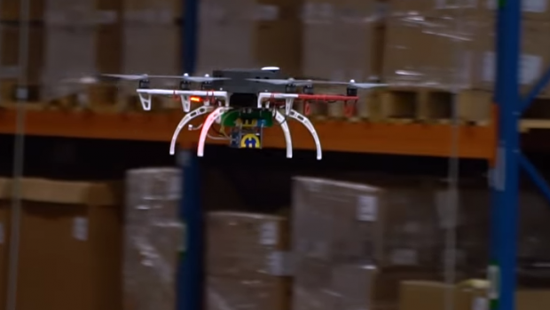 Voorraad tellen: drones steeds vaker zakelijk ingezet