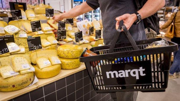 'Kwakkelende eco-supermarkt Marqt staat in de etalage'