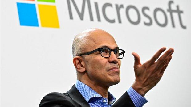 Microsoft op een wolk na onverwacht goede cloudverkopen