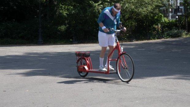Review: deze e-bike met een loopband gaat best hard