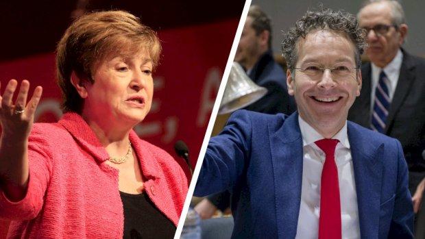 Dijsselbloem grijpt mis: EU draagt Georgieva voor als baas IMF