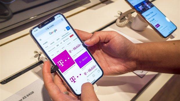 'T-Mobile heeft volgend jaar landelijk dekkend 5G-netwerk'