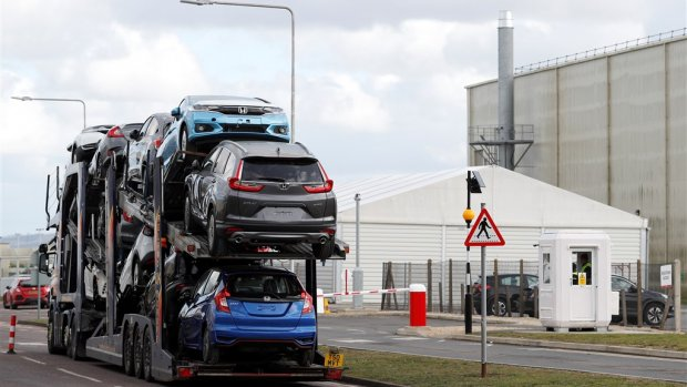 Britse economie krimpt voor het eerst in zeven jaar tijd