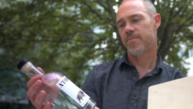 Veilig drinkbaar: wodka van radioactief graan uit Tsjernobyl