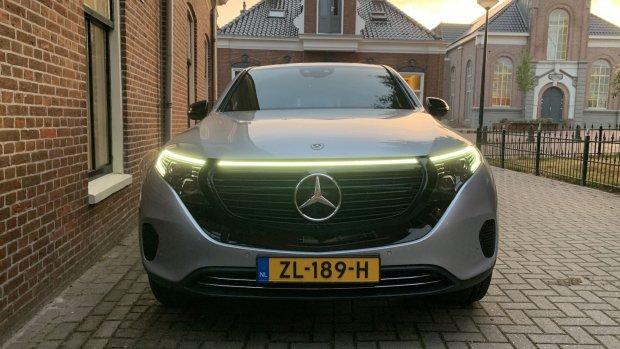 Duurtest Mercedes EQC: Benz zonder ine