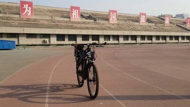 Deze zelfrijdende fiets rijdt zonder fietser