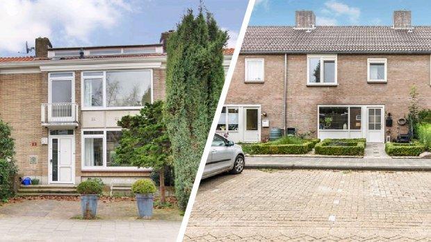 Rijtjeshuis Amsterdam 1,2 miljoen duurder dan in Drenthe