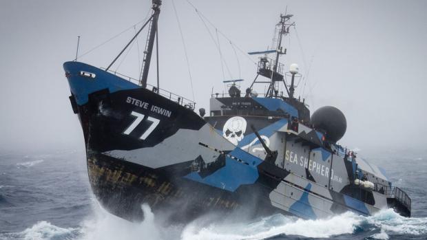 Stoere workwear van Sea Shepherd bij Mud Jeans
