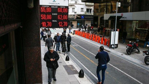 Koers peso ondanks crisisplan verder onderuit