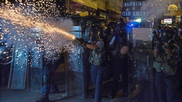 Prognose: economie Hongkong komt tot stilstand door protesten