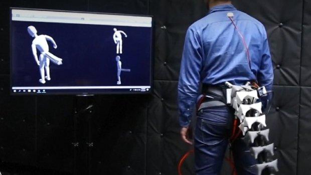 Japanse uitvinding: robotstaart moet oudere rechtop houden