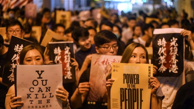 Rustige dag in Hongkong: 'Maar strijdlust zit er nog altijd in'