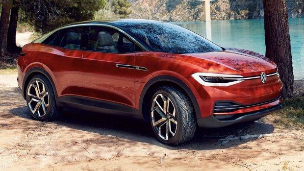 Volkswagen registreert vijf namen voor elektrische SUV's