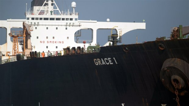 Amerikaanse rechter: Iraanse tanker moet weer aan de ketting