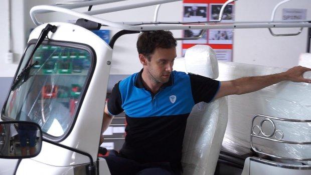 Nederlandse elektrische tuktuk breekt door in Azië