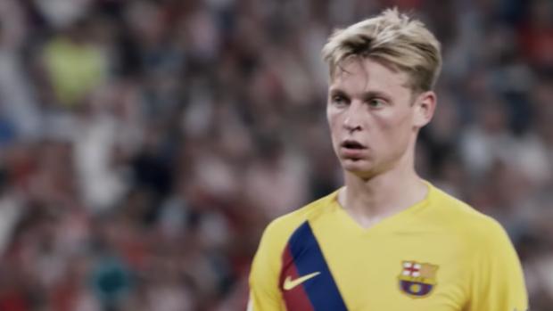 Mooie beelden debuut Frenkie in La Liga
