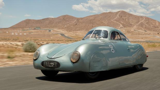 Dure nazi-Porsche niet verkocht na blunder veilinghuis