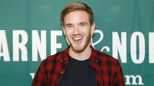 Zweedse vlogger PewDiePie in het huwelijksbootje gestapt