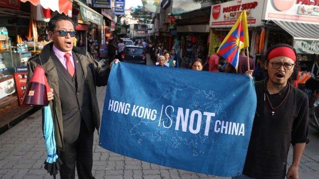 Nederlanders in Hongkong 'Het wordt steeds grimmiger'