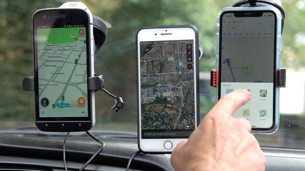 Test: wat is de beste gratis navigatie-app?
