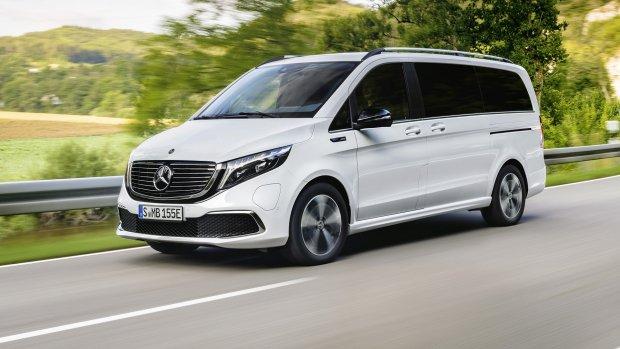 Mercedes kondigt elektrische MPV aan: de EQV