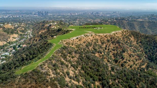 'Duurste berg Hollywood verkocht voor maar een ton'