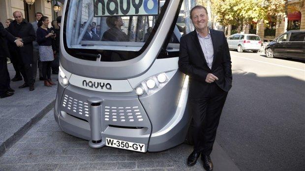 Parijs stopt na 2 jaar met zelfrijdende shuttlebus