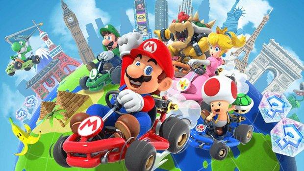 'Mario Kart Tour veruit populairste mobiele game Nintendo'