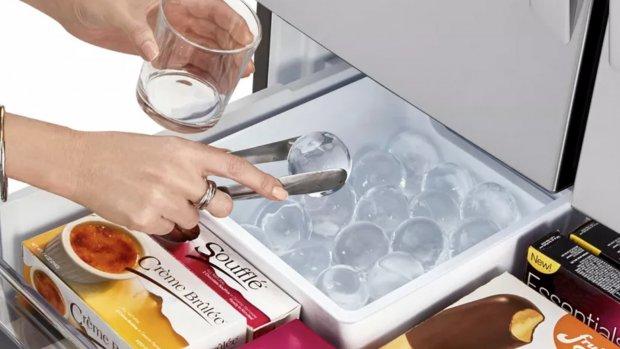 LG komt met koelkast voor 'perfect ronde ijsklontjes'