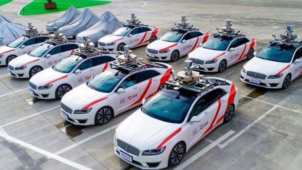 Chinese Uber-rivaal test zelfrijdende taxi's voor klanten