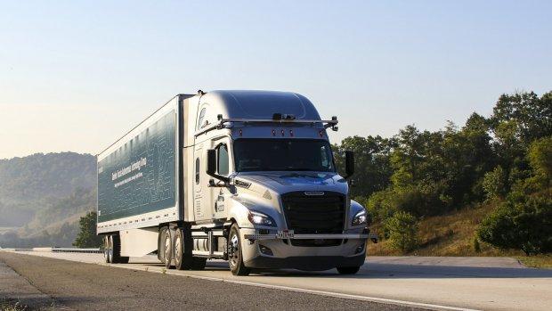 Daimler test zelfrijdende trucks op openbare weg
